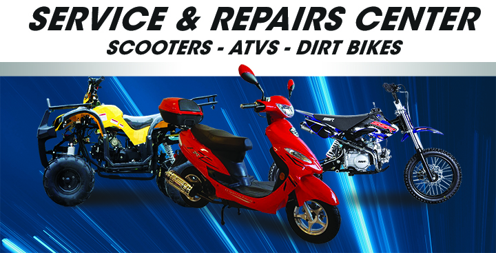 Scooter service and repairs Miami